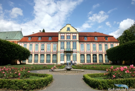 Abbey Palace in Oliwa