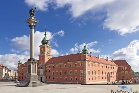 Königspalast in Warschau