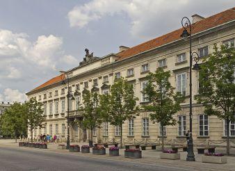 Tyszkiewicz Palace, Warsaw