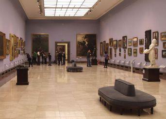 National Museum The Nineteenth Century Polish Art Gallery at the Sukiennice,  Kraków